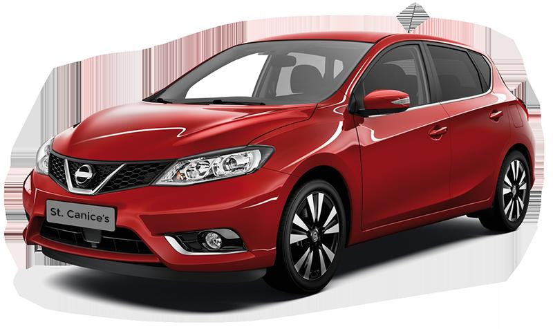 Nissan Pulsar Red